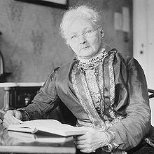 Portrait de Mother Jones